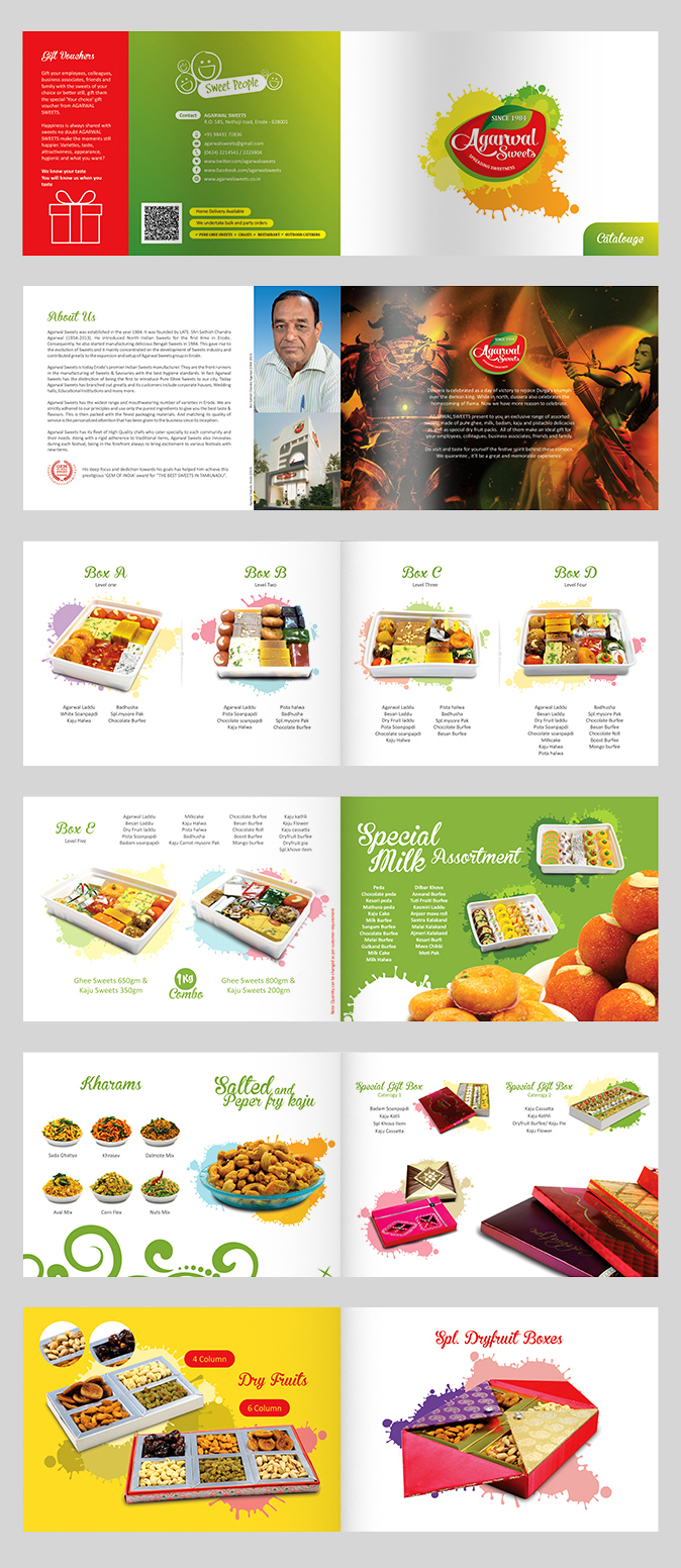 Sweets Catalogue