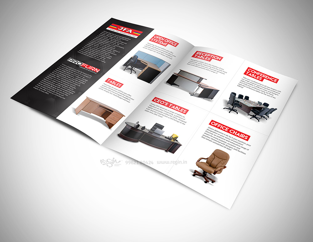 JFA   Profurn Furniture Catalogue. JFA   Profurn Furniture Catalogue   Regin in