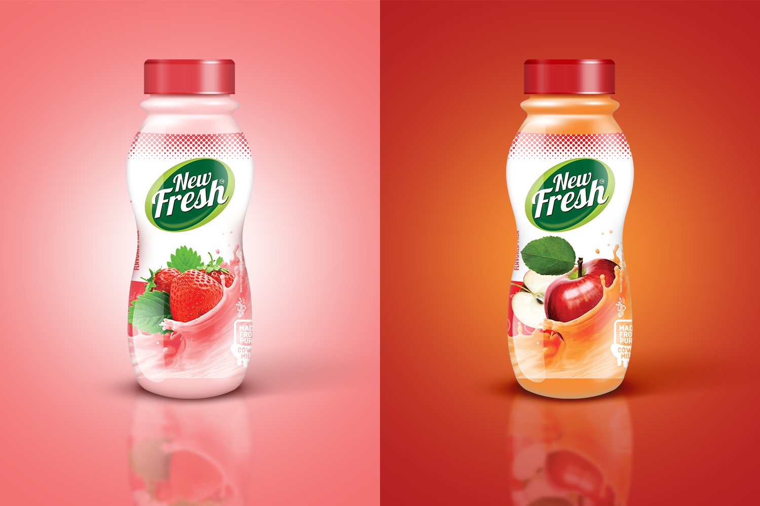 New Fresh Flavoured Milk Series