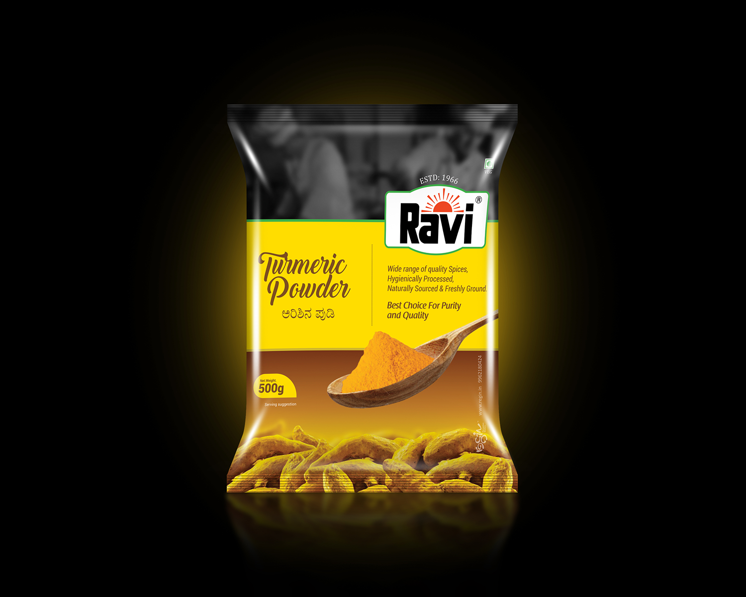Ravi Spices Packaging | Regin in