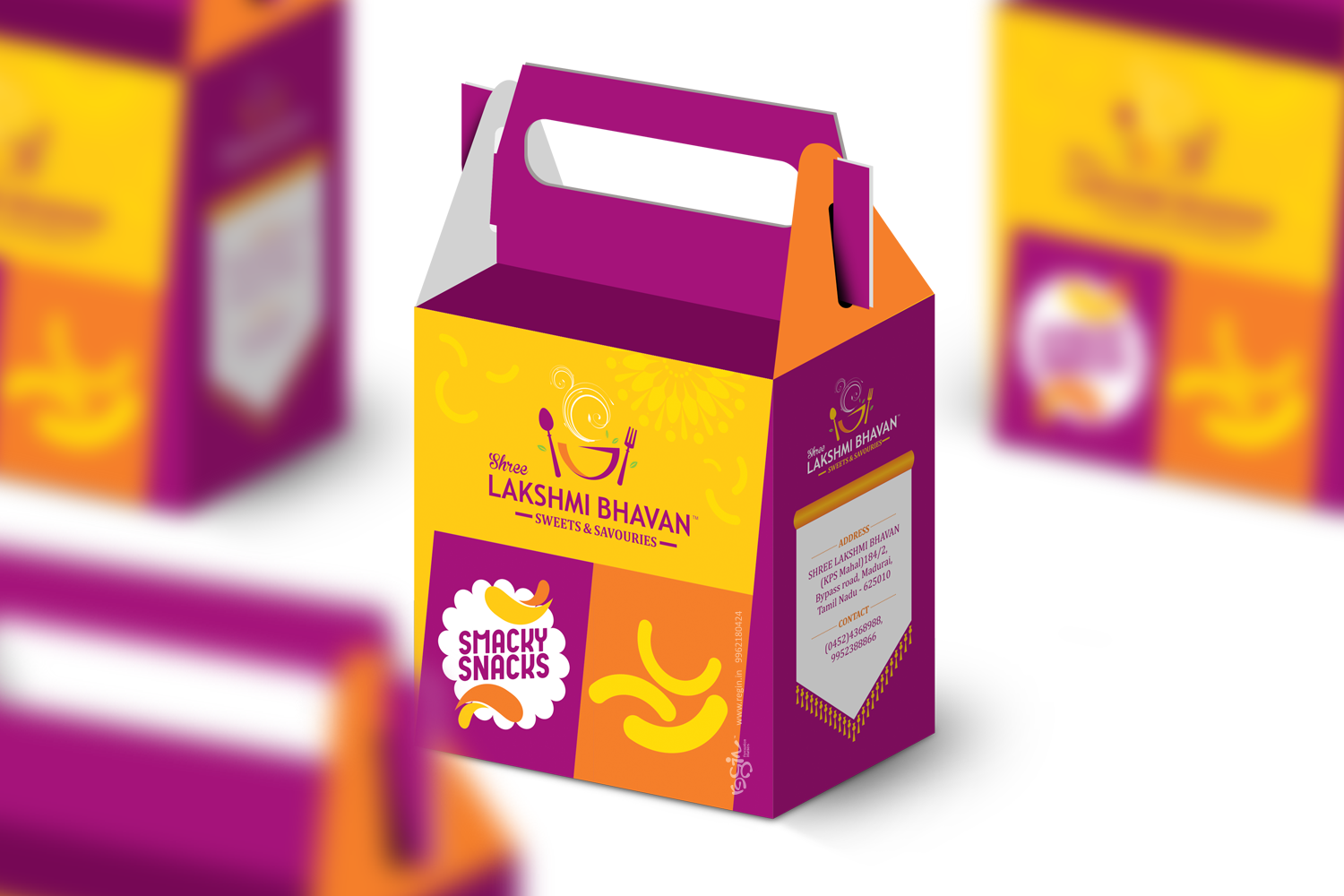 Shree Lakshmi Bhavan Sweet Box design