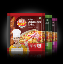 All Right Puliyotharai Rice Paste
