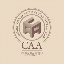 CAA - Coimbatore Academy Of Architecture College Logo
