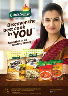 Cook Sense Promotional Poster