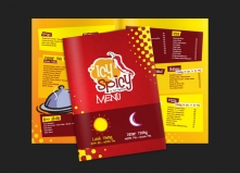 Icy Spicy_Menu Card