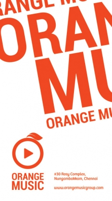 Orange Music Identity Design