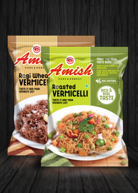 Amish Vermicelli Packaging Design