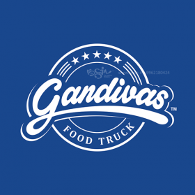 Gandivas Food Truck Logo Design