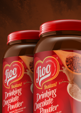Jioo Instant Drinking Chocolate Powder