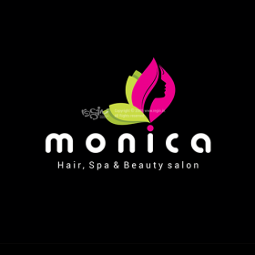 Monica Beauty Parlour Logo