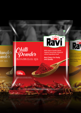 Ravi Spices Packaging