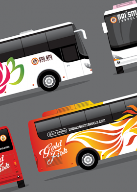 SRI SM Travels Bus Design
