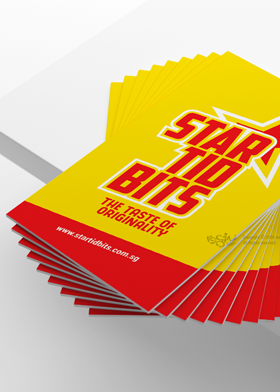 Star tid bits Visiting card design