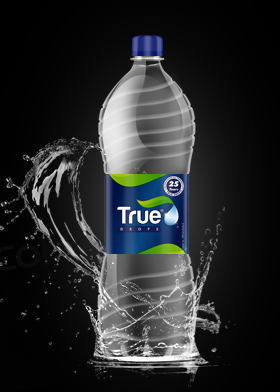 True Drops Water Bottle