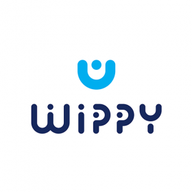 Wippy brand logo Design